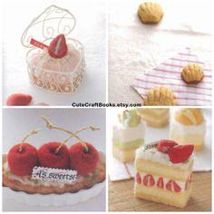 Felt Sweets / Desserts / Cakes / Cookies / by CuteCraftBooks, $2.75