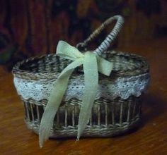 Basketcase Miniatures - these mini baskets are fantastic!