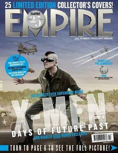 """All 25 """"X-Men: Days Of Future Past"""" Covers From Empire Magazine"""
