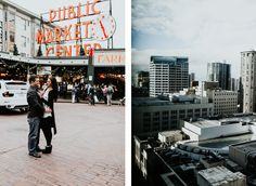 Kate and John, Seattle Washington NYE Elopement