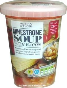 Minestrone Soup with Bacon from Marks & Spencer