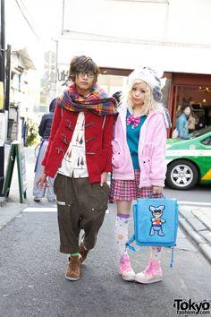 Kurebayashi & Ring Kato, Japanese Magazine Models in Harajuku