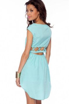 6a29f0c062 Nexxt Summer Dress in Light Blue    tobi
