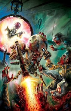 MARS ATTACKS: Zombies vs. Robots! by RayDillon on DeviantArt
