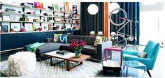 living room, walls