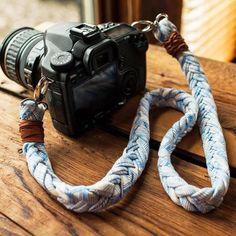 Capture every spring break, music festival, and summer adventure moment with this braided camera strap DIY from Leah Duncan.