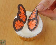 How to Make Chocolate Butterflies | OhNuts.com