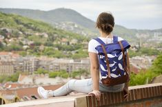 Unique bags and backpacks from quality materials. Manufactured in the heart of Europe. Heart Of Europe, Unique Bags, Blue Whale, Whales, Canvas Leather, Backpacks, Fashion, Moda, Fashion Styles