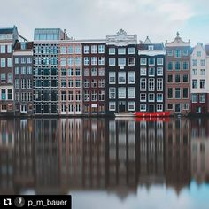 @p_m_bauer  Who wouldn't like to live in one of these typical houses in amsterdam?  #amsterdam #netherlands #holland #citytrip #grachten #reflection #longtimeexposure #picoftheday #traveling #travel_europe #visit_eu #ig_amsterdam #visit_amsterdam #amsterdamcity #instatravel #shootcamp #fujixt2 #adobelightroom #visit_europe #folkmagazin #theweekoninstagram  #europe_gallery #europeview #wanderlust #amsterdamworld #visualAmbassadors #wonderlustamsterdam #TopAmsterdamPhoto @amsterdam #iamsterdam…
