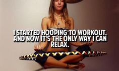 Unwind by twirling and spinning ...love this!