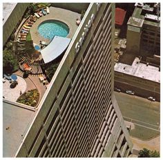 Carlton Hotel rooftop pool. The Good Old Days, The Good Place, News South Africa, Johannesburg City, Carlton Hotel, Third World Countries, Out Of Africa, Historical Pictures