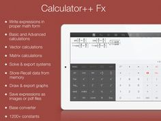 Calculator++ Fx by GraficLux