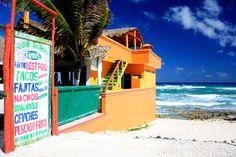 Cozumel, Mexico beach