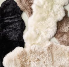 Double Sheepskin Rug Carpet (11 colors)