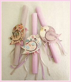 Aromatic Easter candles!!!