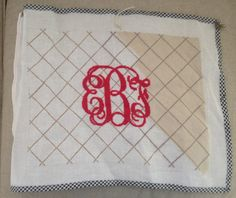 eBf needlepoint pillow via The Gracious Posse