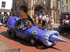 Dick Dastardly's car from Wacky Races.