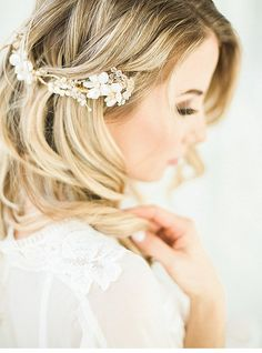 Romantic Bridal Boudoir by Esther Funk Photography