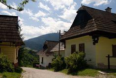 Vlkolínec museum - a traditional vilage,World Heritage site, Ružomberok