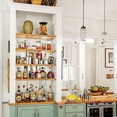 A Southern Chef's Kitchen | Open Shelving