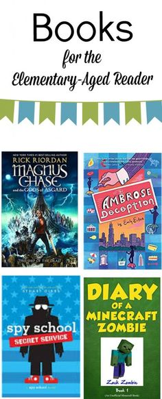 Book recommendations for boys (and girls) - what my third grader is currently reading - fiction for elementary aged children