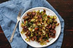 A new way to enjoy brussels! Crispy Brussel Sprouts