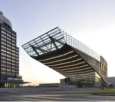 Voest steelworks office in Linz. Repinned by www.strobl-kriegner.com #hometown #Linz #roots
