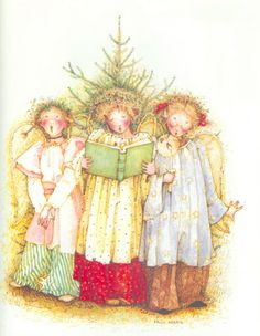 Holly Hobbie Christmas Chior