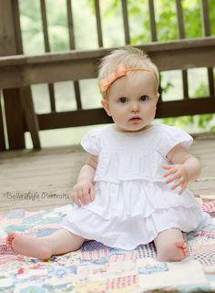 Chevron Stripe Bow Headband Set-Orange, Turquoise, Yellow &  Pink-toddler, babies, photography, prop, girl, newborn, hair, bows, accessories