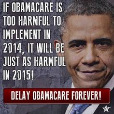 Defund ObamaCare, STOP it NOW