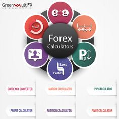 Greenvault #FX welcomes you all to enjoy technologically advanced indigenous free #forex calculators which include #Currency Converter, Margin, Pip, Pivot, Position and Profit Calculators.  Stay updated with currency rates with our forex calculators and open a live account to get a welcome bonus for opening an account.