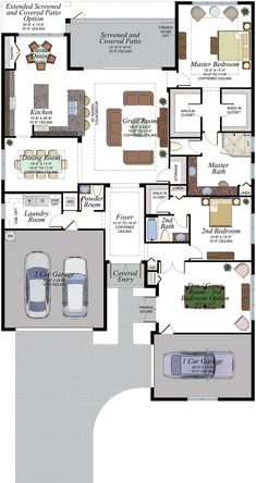 Modern House Floor Plans, New House Plans, Dream House Plans, Small House Plans, Barbour, Melamine Cabinets, Concrete Roof Tiles, House Blueprints, House Layouts