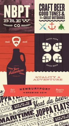 Newburyport Brewing Co. on Branding Served