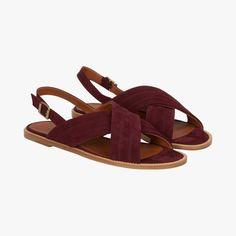 Sandales plates Paulette - Michel Vivien
