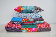 MES couvertures patchwork et le TUTO qui va avec ... - Au pays des bulles Coin Couture, Plaid, Recycling, Decorative Boxes, Patches, Textiles, Sewing, Inspiration, Bb
