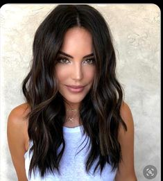 Medium Hair Cuts, Long Hair Cuts, Medium Hair Styles, Long Hair Styles, Medium Lenth Hair, Medium Dark Hair, Medium Brunette Hair, Medium Length Hair Cuts With Layers, Brown Hair Balayage