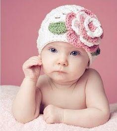 Crochet Rose Cloche