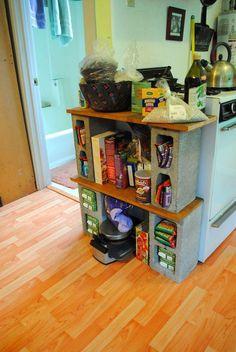 Diy dorm room crafts : DIY Ikea: Modular food shelf