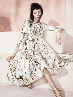 Cool Chic Style Fashion: Fashion Editorial   Fei Fei Sun by Sharif Hamza for Vogue China May 2014