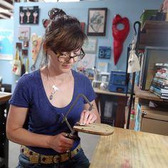 Jewelry artist Michelle Spanyard #PracticalArt #artistbio #Phoenix #map #jewelry