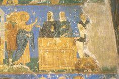 Суд Пилата Фреска на северной стене западной части трансепта.