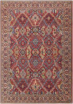 Antique Persian Tabriz Rug 47039 Nazmiyal - By Nazmiyal