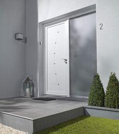 porte d 39 entr e en pvc manhattan primo 215 x 90 cm poussant gauche leroy merlin 299 id es. Black Bedroom Furniture Sets. Home Design Ideas