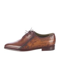 BERLUTI SCARS OXFORDS #LogosHeLoves