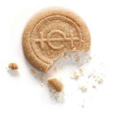 Schmackhafte Umsetzung eines Logos Cookies, Desserts, Food, Simple Logos, Crack Crackers, Tailgate Desserts, Deserts, Biscuits, Essen