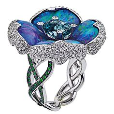 From Mine to Store: Katherine Jetter's Cut Opal Flower Ring in JCK Magazine