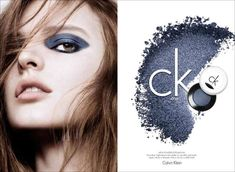 Singled-Out Makeup Ads : ck One Cosmetics Fall 2013