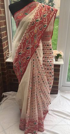 Beautiful Dhakai Jamdani Saree