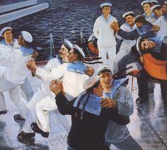 ...Valentin Pechyatin. Sailors' dance. 1959...