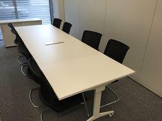 Besprechungstisch - zum Klappen by kühnle'waiko #office #furniture #workspace #interior #design #conference